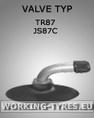 Camere da 3-20 pollici - Camera d'aria 3.00-4 TR87